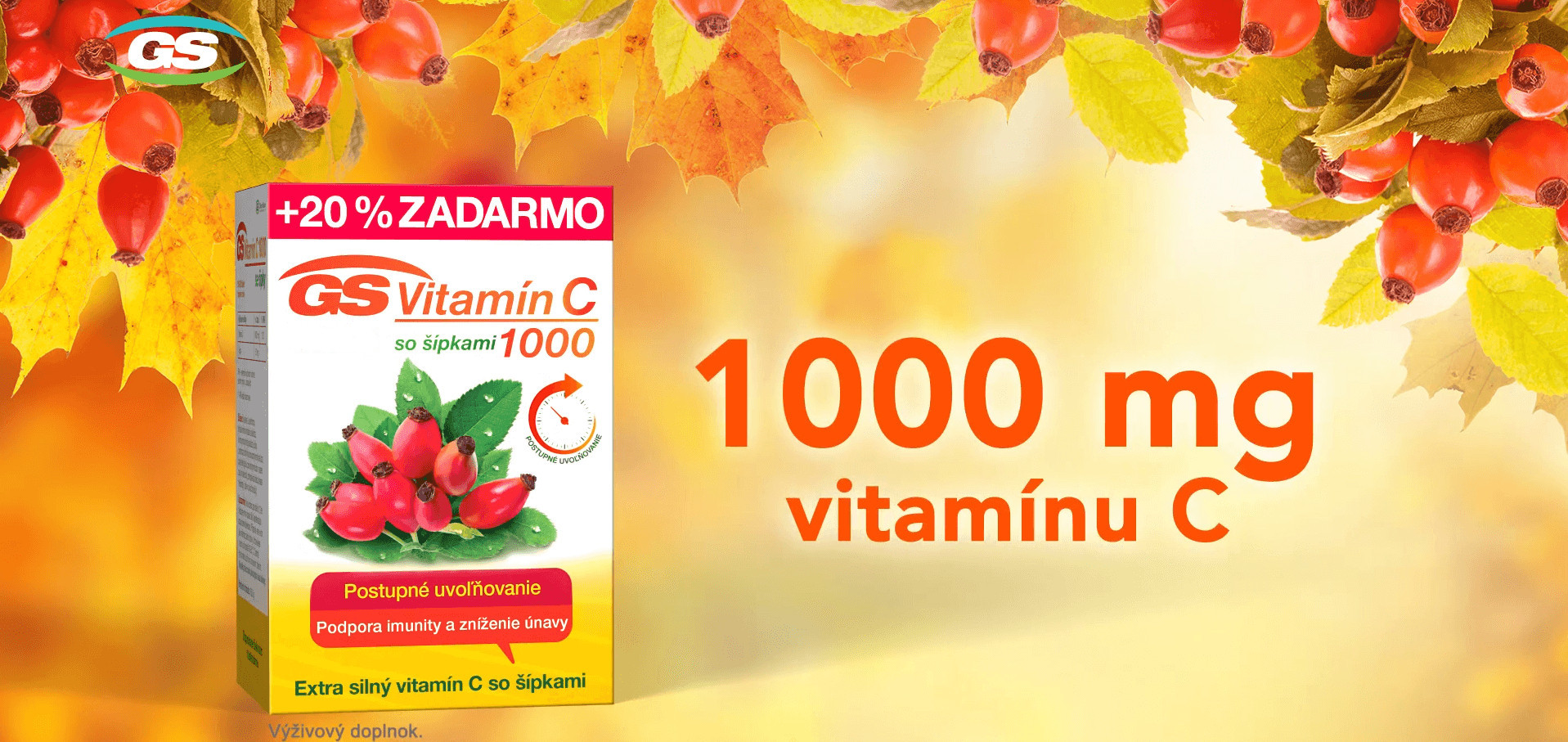 GS vitamín C