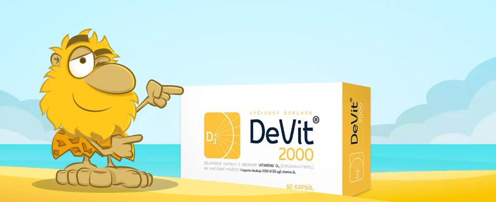 vitamín D pre deti