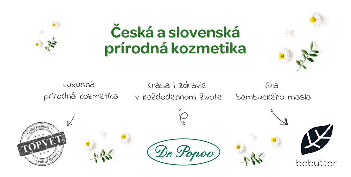 česká a slovenská prírodná kozmetika