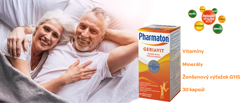 Pharmaton® Geriavit 30 mäkkých kapsúl