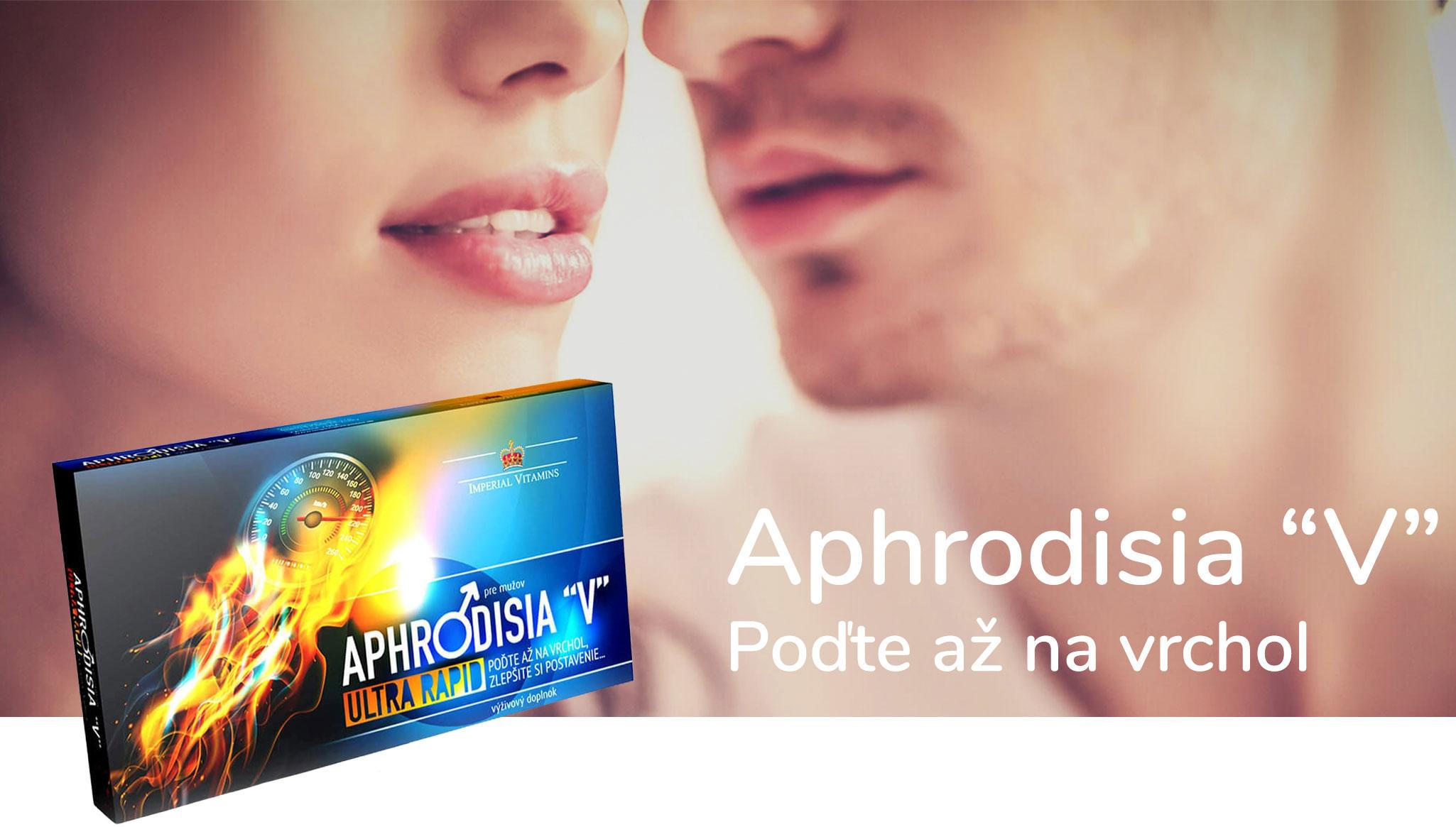 Aphrodisia V, Skvalitnenie erekcie, ultra rapid pre mužov 10 kapsúl