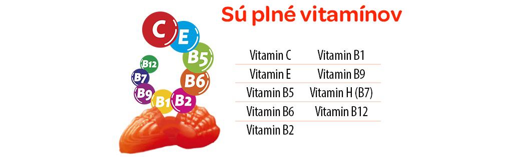 Terezia, rakytníček, multivitamínové želatínky, 9 vitaminu, morsky svet, podpora imunity, Zdravá odmena, doplnenie vitamínov