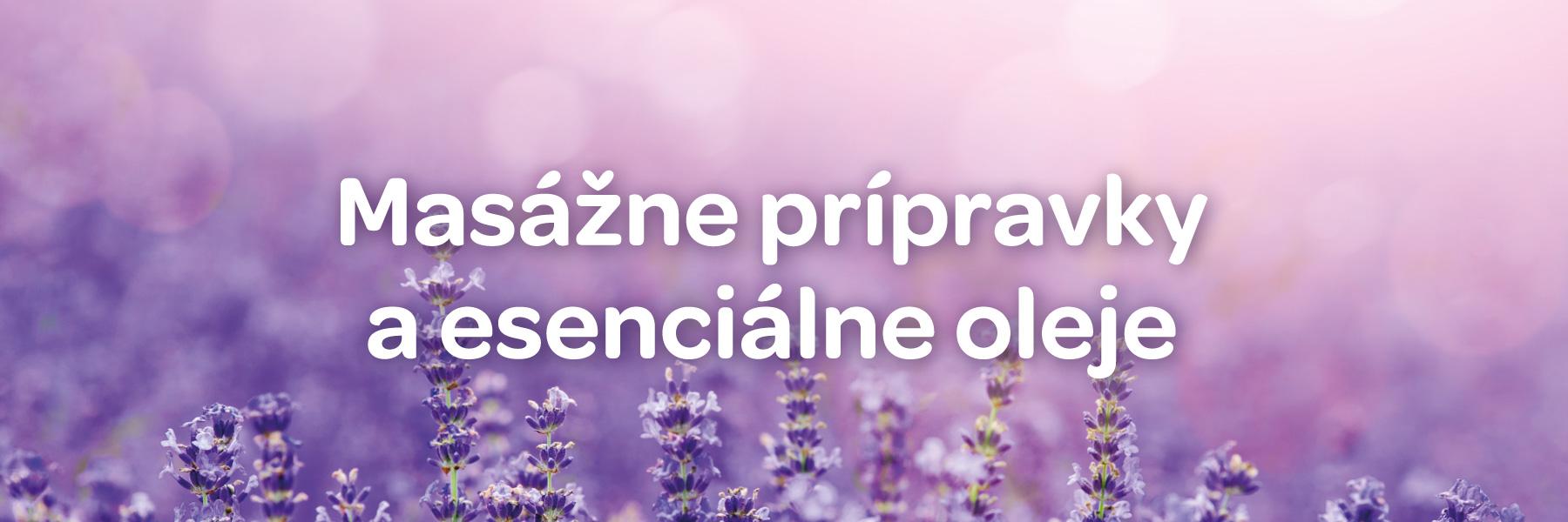 Masážne prípravky a esenciálne oleje Biomedica
