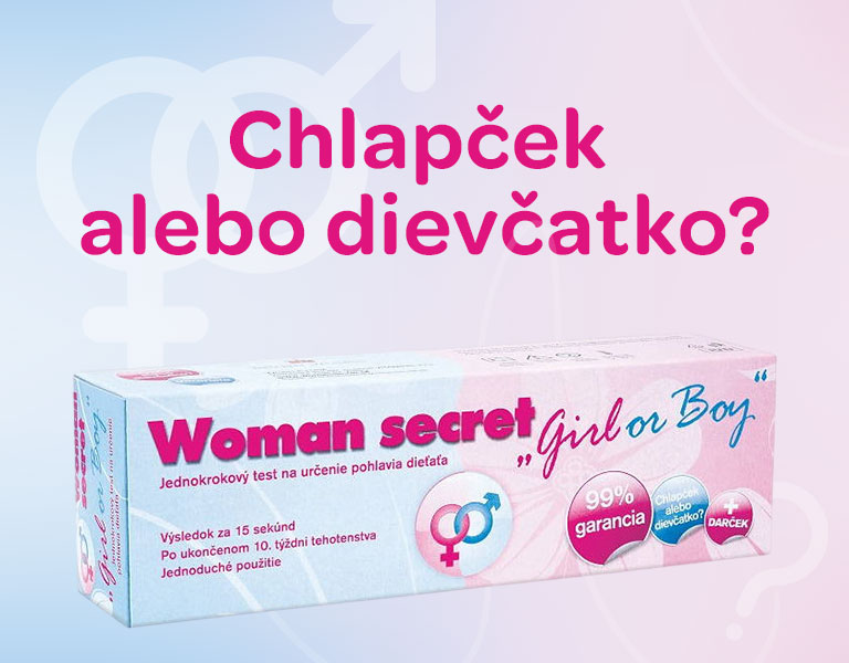 test pohlavia, chlapček alebo dievčatko, funguje po 10. týždni tehotenstva, 99% garancia