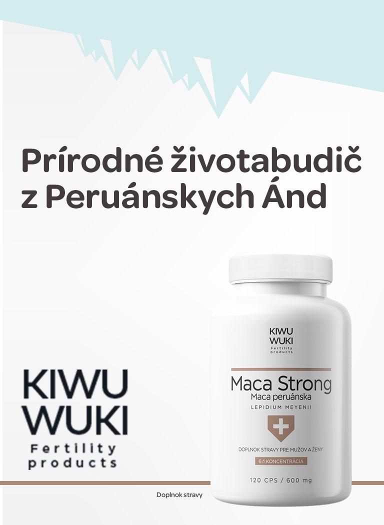 Maca peruánskej, z peruánskych álp, Kiwu wuki, imunita, libido, prírodné aphrodisiakum, fyzikcká aktivita