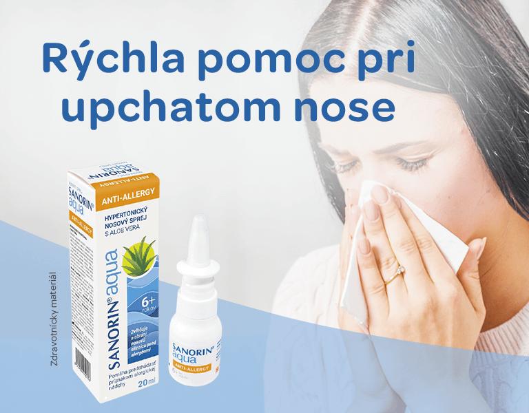 Upchatý nos