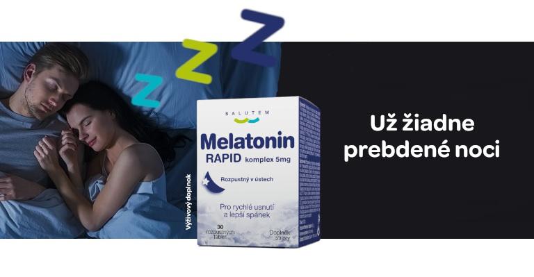 Melatonin pro lepší spánek