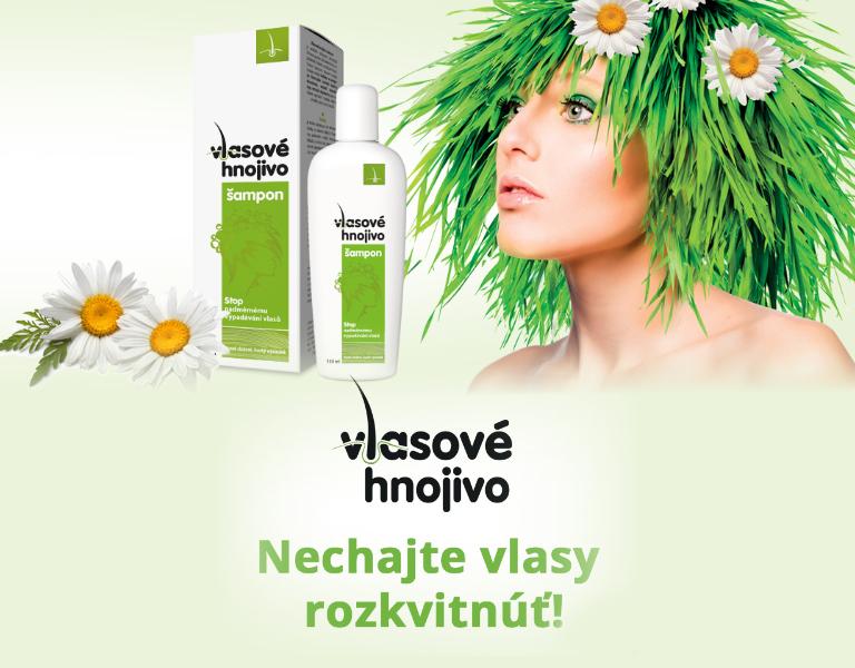 Vlasové hnojivo šampón 150ml