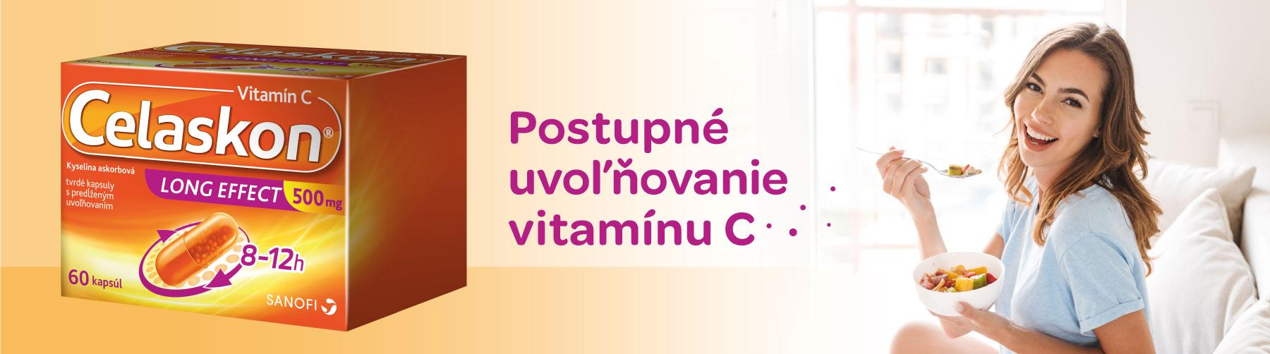 Celaskon 60 tobolek, vitamín s postupným uvolňováním