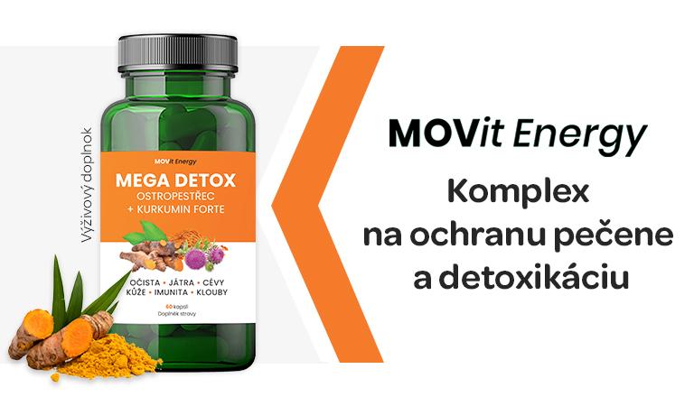 Movit, mega detox, detoxikace jater
