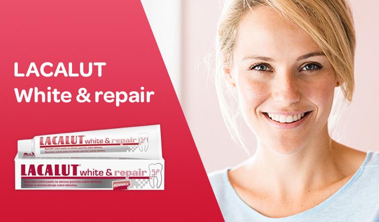 Lacalut white repair