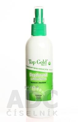 TOP GOLD Deodorant s chlorofylom+Tea Tree Oil sprej 150 g