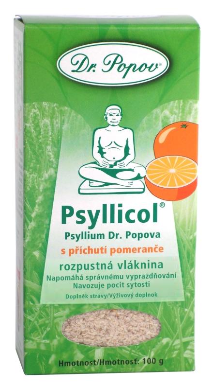 DR. POPOV PSYLLICOL POMARANC rozpustná vláknina 100g