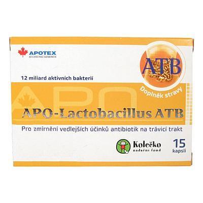 APO-LACTOBACILLUS ATB cps 1x15 ks