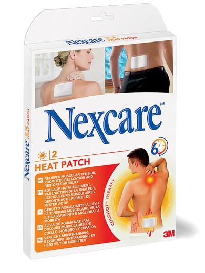 3M Nexcare HEAT PATCH, Náplasť hrejivá 9,5x13 cm, 2 ks