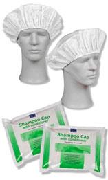 ABENA Čiapka so šampónom na umývanie vlasov bez vody