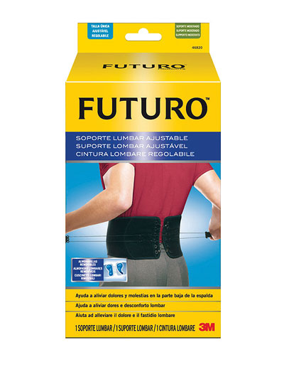 3M FUTURO Bedrový nastaviteľný pás [SelP] stabilizačná opora na chrbát 1x1 ks