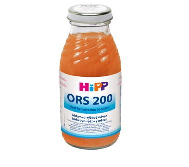 HIiP ORS 200 Mrkvovo ryžový odvar dietetická potraviny 200ml