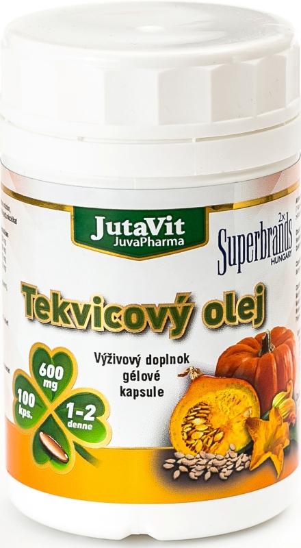 JutaVit Tekvicový olej 100 cps