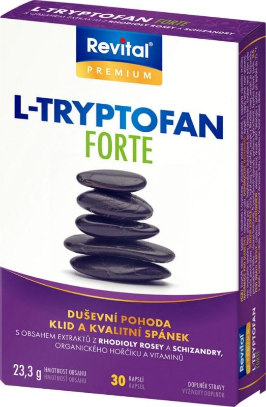 Revital L-Tryptofan Forte 30 kapsúl