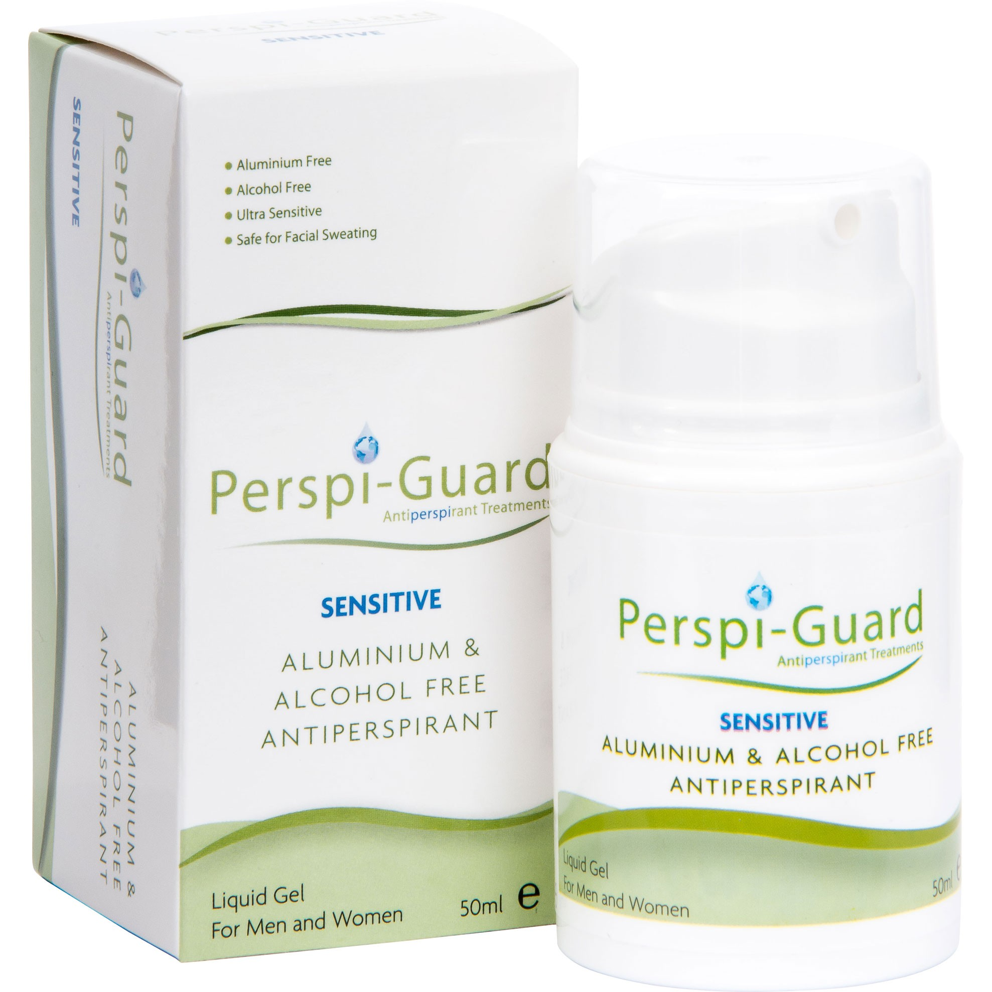 Perspi-Guard SENSITIVE antiperspirant 50 ml