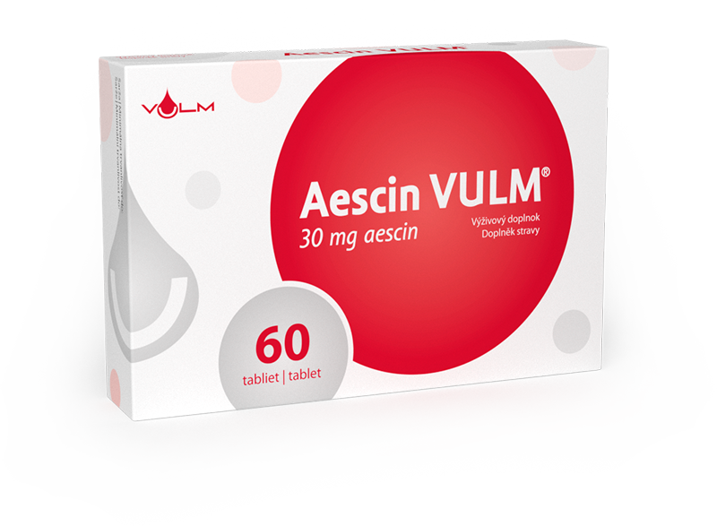 VULM Aescin 30mg 60 tabliet