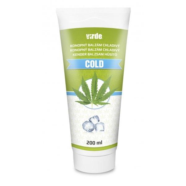 VIRDE KONOPNÝ BALZAM chladivý COLD 200 ml