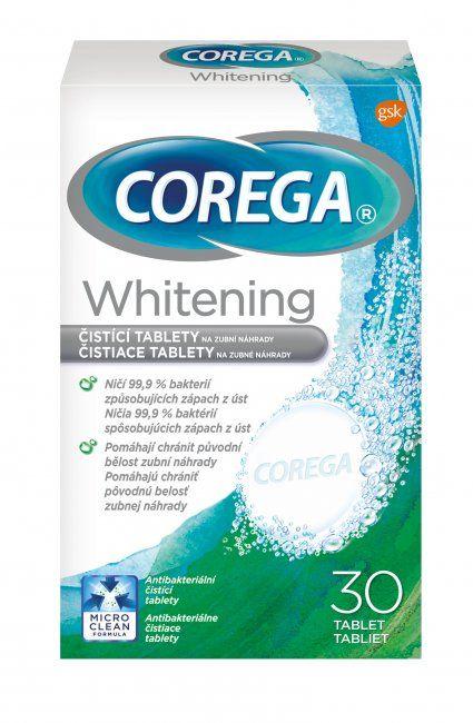 COREGA Whitening tabs čistiace tablety 30ks