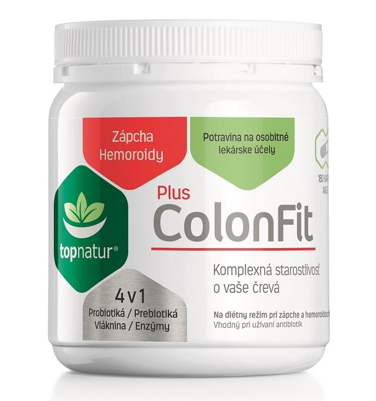 Topnatur ColonFit PLUS enzýmy 180 cps
