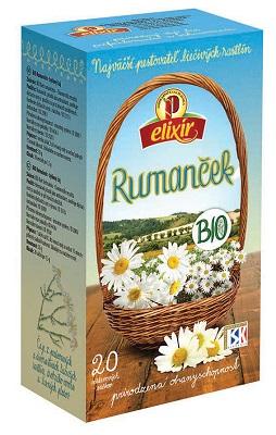 AGROKARPATY BIO Rumanček bylinný čaj prírodný produkt 20x1 5 g