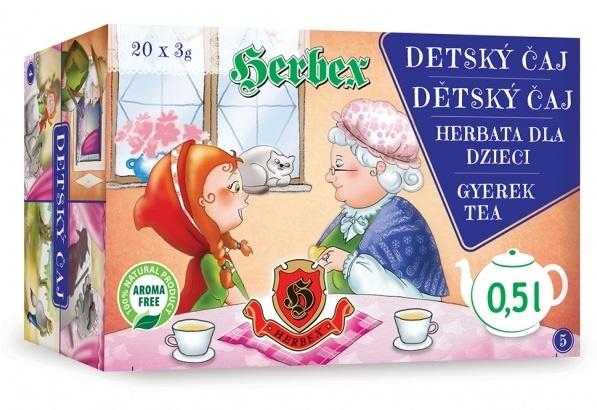 HERBEX DETSKÝ ČAJ rozprávkový bylinný čaj 20x3 g
