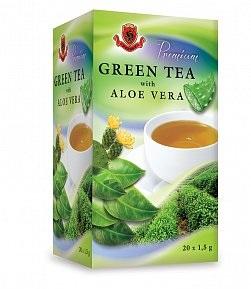 HERBEX Premium Green tea s Aloe vera 20x1,5 g