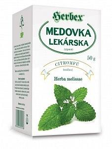 HERBEX MEDOVKA LEKÁRSKA sypaný čaj 50 g
