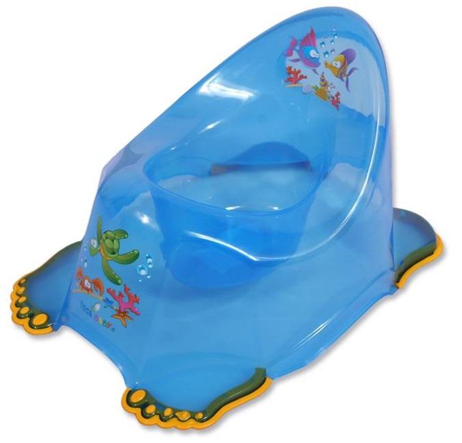 Detský nočník protišmykový modrý Tega Baby