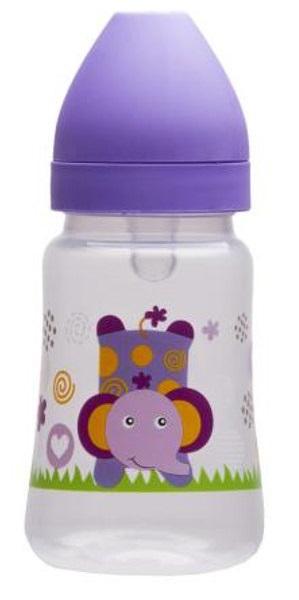 Fľaša so širokým hrdlom Akuku 250 ml fialová