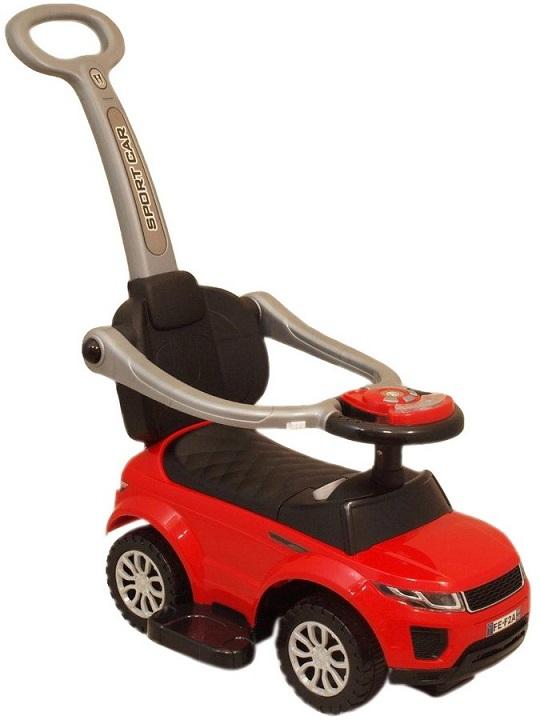 Detské hrajúce vozítko 3v1 Baby Mix červené