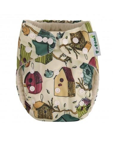 Bambusová nohavičková plienka AlO, vtáčie búdky 4 -15 kg