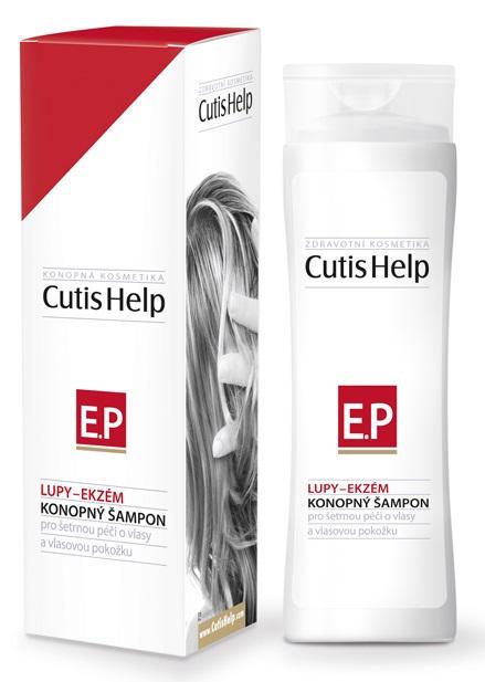 CutisHelp LUPINY-EKZÉM konopný šampón - nový 200 ml