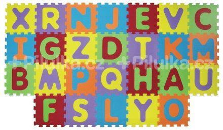 Puzzle penové 199x115 cm písmena