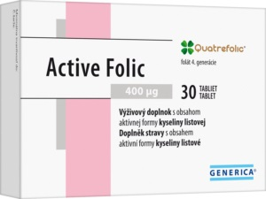 Generica Active Folic 30 tabliet