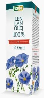 VIRDE Ľan 100% Olej 200ml