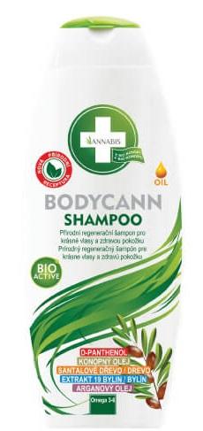 ANNABIS BODYCANN SHAMPOO prírodný regeneračný šampón 250 ml
