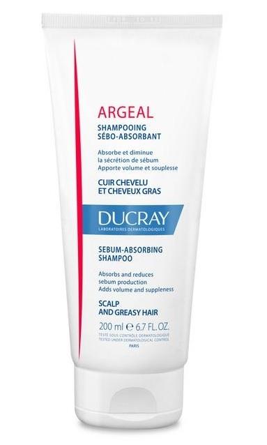 DUCRAY -Šampón absorbujúci maz 200 ml