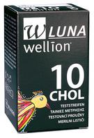 Wellion LUNA CHOL testovacie prúžky k prístroju LUNA 10 ks