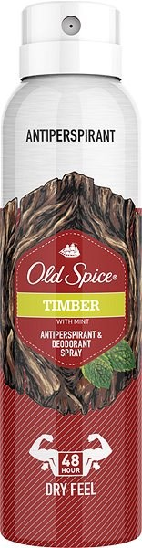 Old Spice spreji deodorant Timber 150ml
