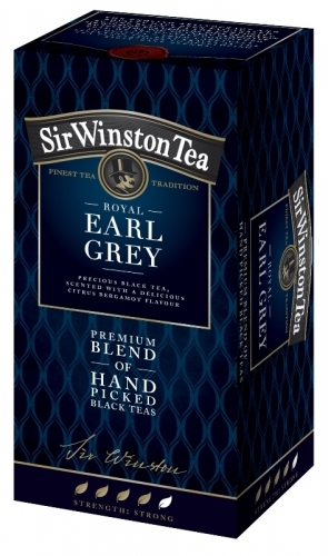 Sir Winston Tea ROYAL EARL GREY čierny čaj 20x1,75 g