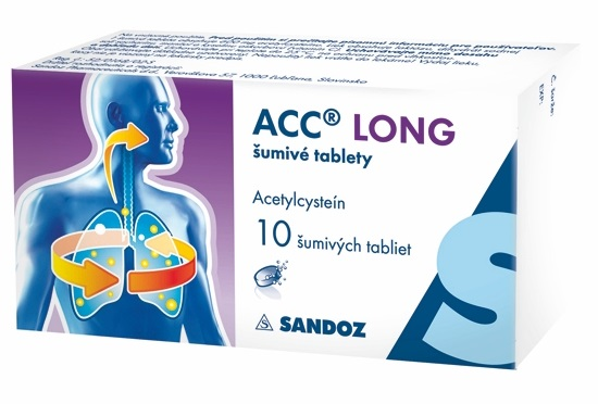 ACC LONG 600 mg šumivé tablety 10 ks