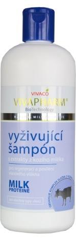 VIVAPHARM Kozí šampón na vlasy 400 ml