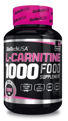 BiotechUSA L-Carnitine (1000mg) 30 tbl.