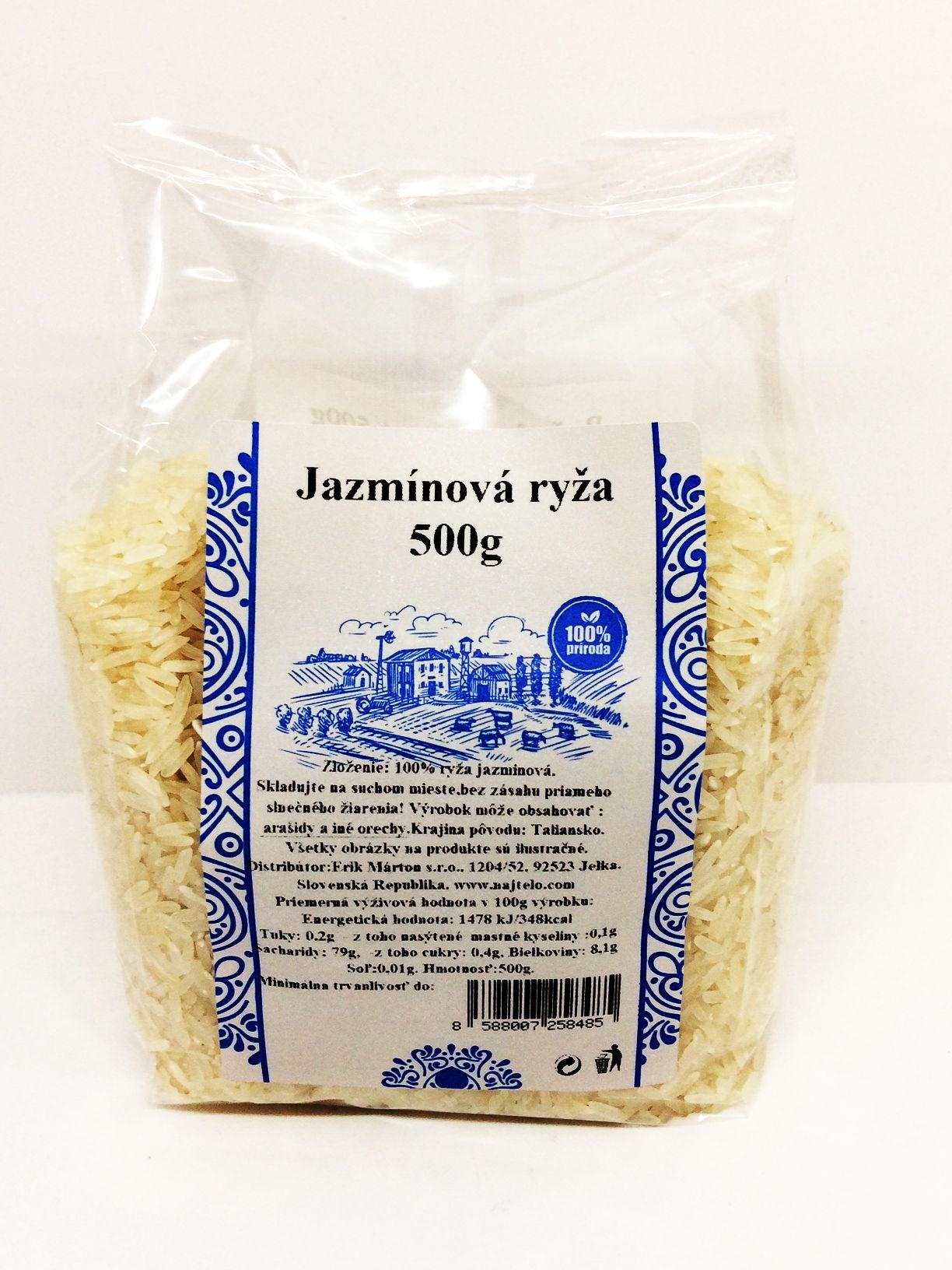 Jazminova ryža 500g Najtelo